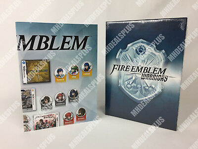 SEALED Fire Emblem Warriors Premium Character Card Set w/ Slip Case & Poster