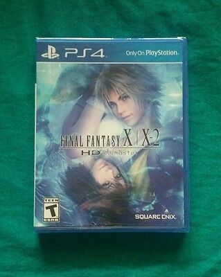 Final Fantasy X/X-2 HD Remaster (Sony PlayStation 4, 2015) Brand New Sealed PS4