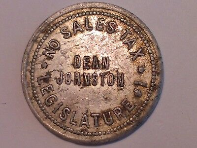 "Extremely rare Texas ""maverick"" sales tax token"