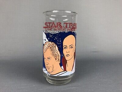 1979 STAR TREK THE MOTION PICTURE COCA-COLA GLASS - NEW MINT UNCIRCULATED wars