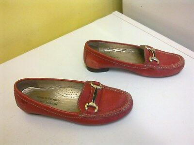 GRAND MARC JOSEPH FOR RUSSELL & BROMLEY SNAFFLE TRIM MOCCASIN - size  4 UK  £165