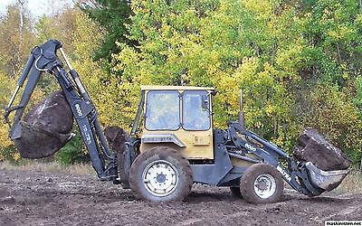 Valmet Hynas 6000 Backhoe Loader Parts Manual