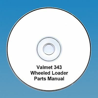 Valmet 343 Wheeled Loader Parts  Manual