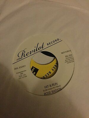 ** Northern Soul Classic ** Rose Batiste - Hit And Run **
