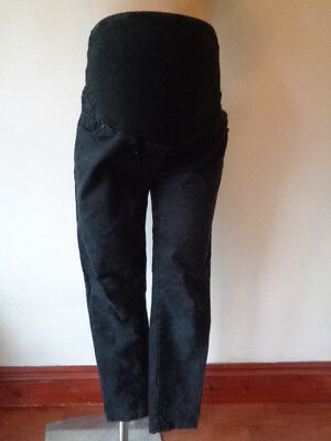 Next Maternity Black Over Bump Skinny Fit Jeans Size 14