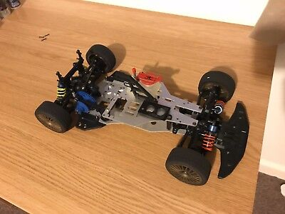 Kyosho Gp Spider Mk2 1:10 Scale Pureten Vintage RC Chassis