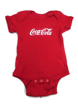 Coca-Cola Infant Body Suit  Heather Red 12 month  - BRAND NEW