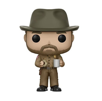 Funko-Pop! Tv: Stranger Things Series 2-Hopper With Donut W (Us Import)  Acc New