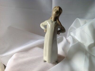 Lladro Porcelain Figure of Girl with Hands on hips - Retired piece