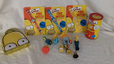 The Simpsons Watches and toys etc