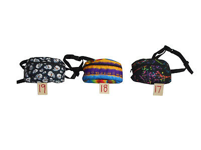 Fanny pack Multiple prints,waist bags 1 size fit's all durable Made in U.S.A.