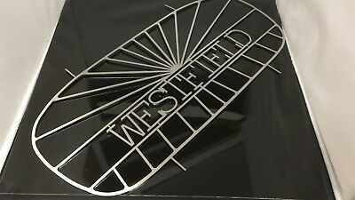 WESTFIELD Nose Cone Grill Lightweight Logo Stainless SE SEI