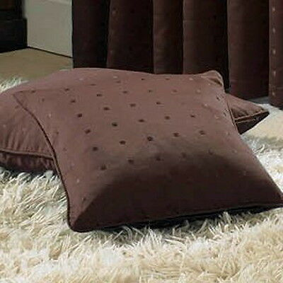 """Madison 18"""" Cushion Cover Chocolate Brown"""