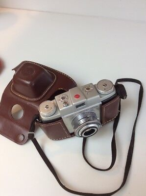 Excellent Condition Kodak Pony 135 Film Camera With Leather Case