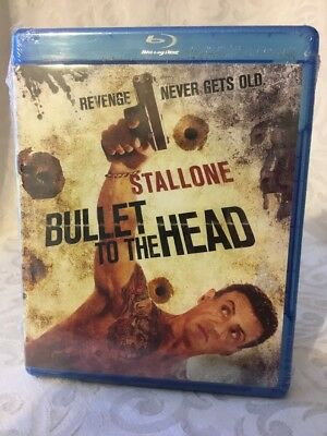 Bullet to the Head (Blu-ray, 2013) Sylvester Stallone, SEALED, A6