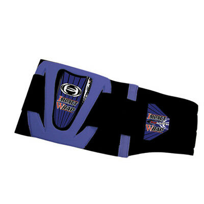 HRP Impact Wrap Blue ATV Motocross Offroad Motorcycle Riding Back Kidney Belt