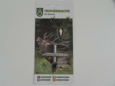 trophäenhalter Metal - Blister Paquete - EUROHUNT para rothisrch 52.2.5