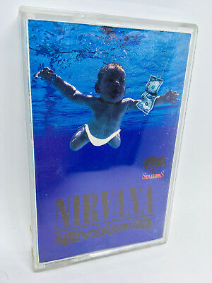 NIRVANA: NEVERMIND (VERY RARE CLEAR TAPE!) - Official Cassette Album (1991)