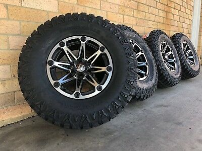 Ballastic Off Road Wheels 16 Inch With Mud Terrain Tyres Fitted And