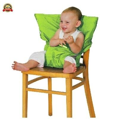 Baby Chair Booster Infant Portable Feeding Safety Belt Seat High Chair Harness C