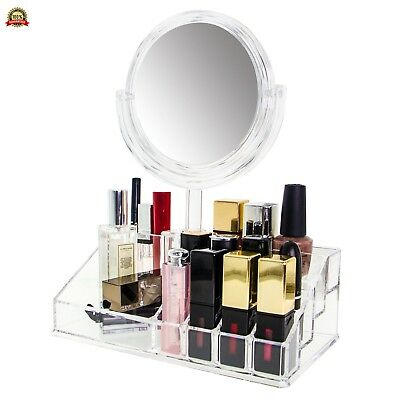 Beauty Holder Quntis® Makeup Organiser Jewelry and Cosmetic Storage with Two-Si