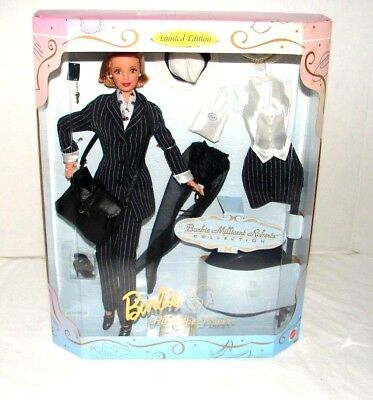 Barbie Doll Pinstripe Power Millicent Roberts Collection Limited Edition 1997