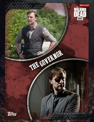 Topps The Walking Dead (TWD) Digital Card Trader -The Governor RARE card low cc