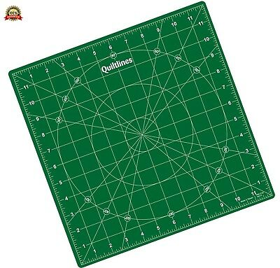 Self Healing Rotating Cutting Mat 12 x 12 inch (30 x 30cm) by Quiltlines