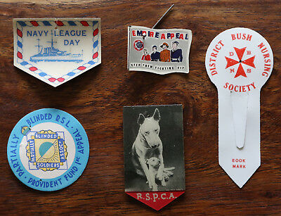 5 Appeal day badges. Interesting lot