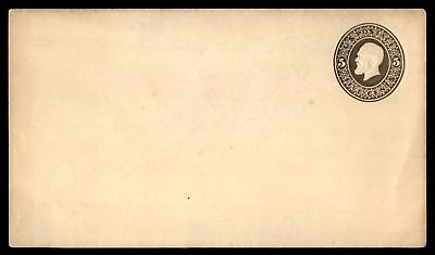 Mayfairstamps US 5c Grant Mint Postal Stationery Brown Envelope
