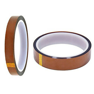 2 Rolls Heat resistant tapes sublimation Transfer Thermal Tape 10mm*100ft