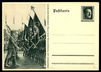 Mayfairstamps Germany 6 Pf Green Illustrated Mint Postal Stationery Card