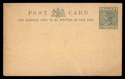 Mayfairstamps Cyprus QV 1/2 Piastre Mint Postal Stationery Card Green