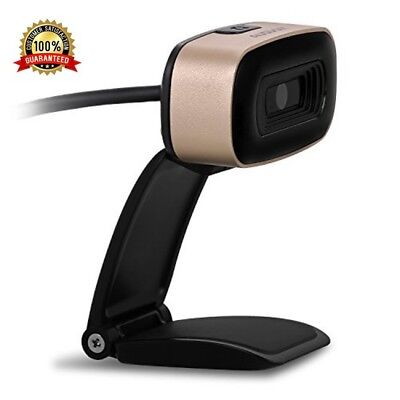 AUSDOM Webcam AW525 Full HD USB Interface Desktop Camera with Mic for Video Chat