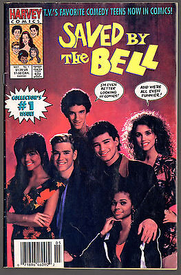 Saved by the Bell #1 - 1991 Harvey Comics - Photo Cover - VG