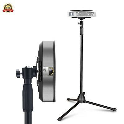 Portable Projector Stand, Auledio Lightweight Projector Tripod Floor Stand Holde