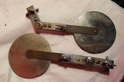 Vintage Ludwig and WFL Bass drum Mufflers