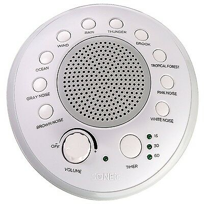 Sleep Relax Focus Sound Machine 10 Soothing White Noise Natural Sound Tracks