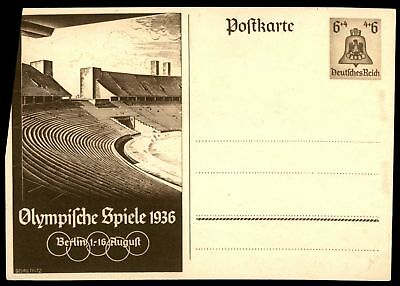 Mayfairstamps Germany Olympics Mint Postal Stationery Bell Card 6 + 4