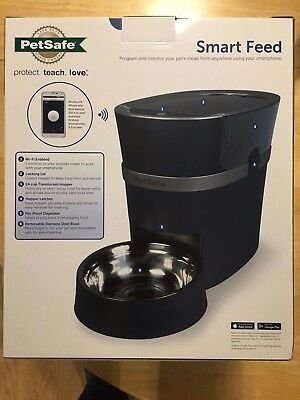 New Petsafe Smart Feed Automatic Wireless Pet Feeder for Iphone or Android