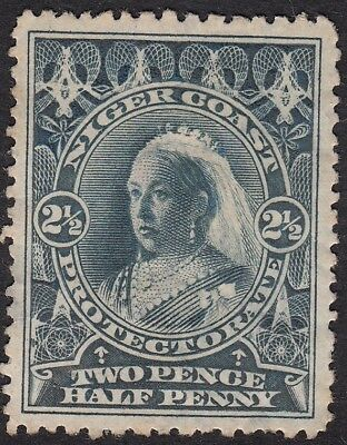 Niger Coast Protectorate, 1897 2½d perf 13½, mh