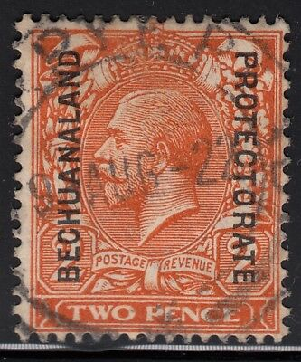 Bechuanaland Protectorate 1913 KGV 2d orange, used