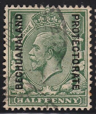 Bechuanaland Protectorate 1913 KGV ½d green, used
