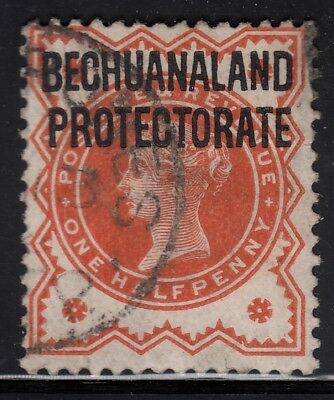 Bechuanaland Protectorate 1897 ½d vermilion, used