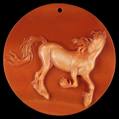 WALYCORP Carved Horse Bead DK500005