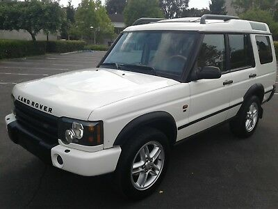 2004 Land Rover Discovery SE CLEAN CALIFORNIA RUST FREE 2004 LAND ROVER DISCOVERY II SE 119K CHAWTON / ALPACA