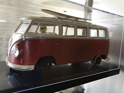 """Slot Car 1:24 Classical VW Bus -  Scalextric Sidewinder Motor, """"Going Surfing"""""""