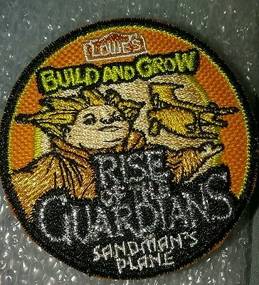 Lowe's Build and Grow Patch Rise of The Guardians Sandman's Plane NLA