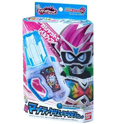 Bandai Masked Kamen Rider EX-AID DX  Mighty Creator VRX GASHAT F/S From Japan