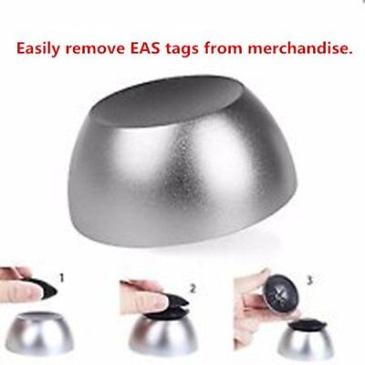 Universal Cylinder-shaped Golf Detacher Reusable Magnetic Security Tag Remover